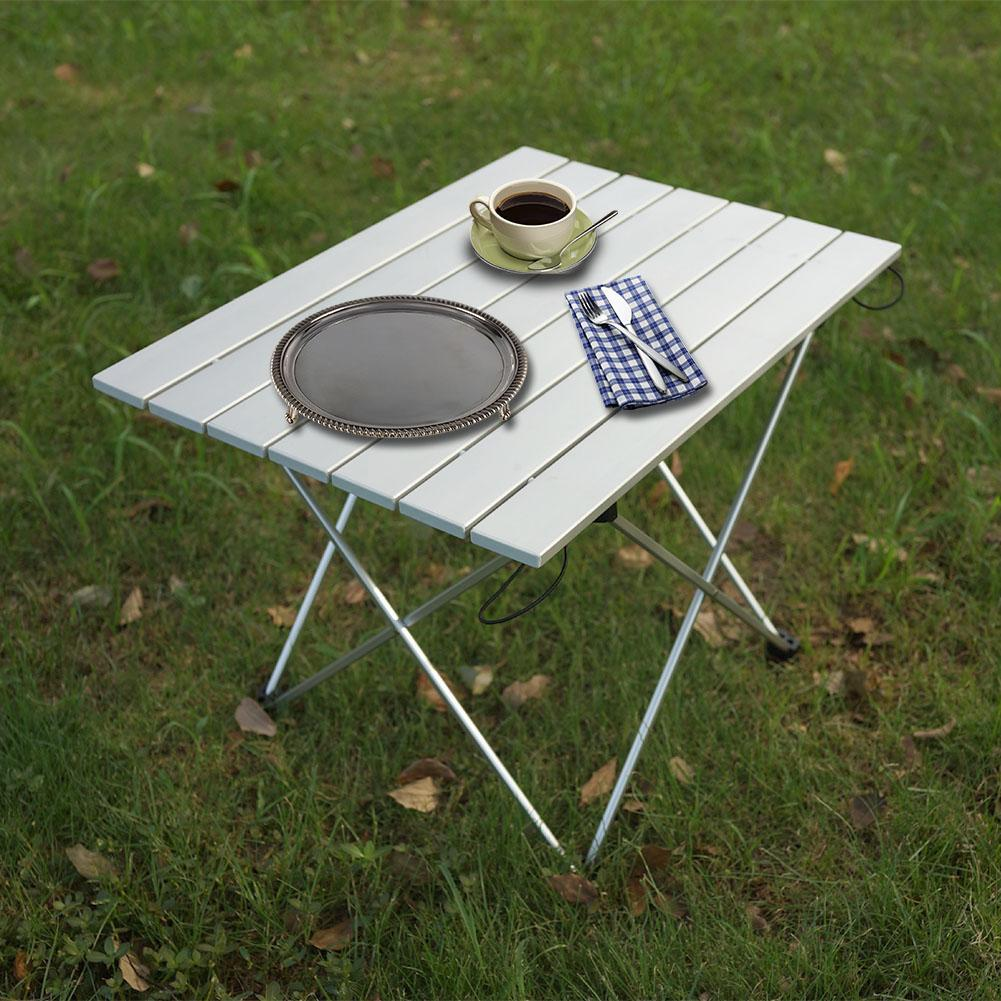 Portable Foldable Desk Table High Quality Aluminum Alloy Table Outdoor Camping  Picnic Barbecue Tool Ultra-light