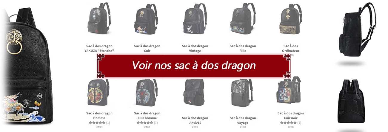 Sac à dos dragon