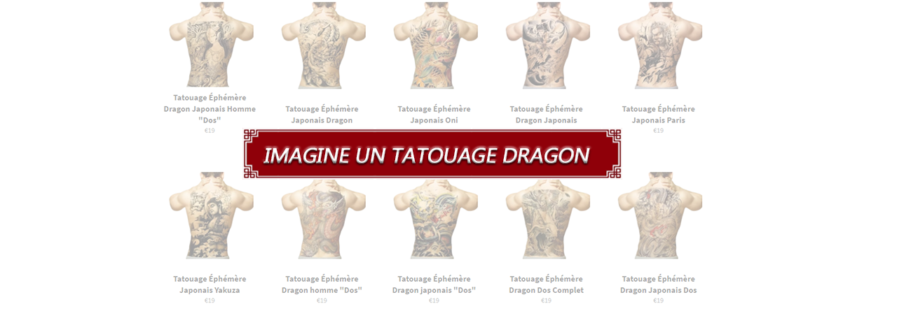 Tatouage dragon