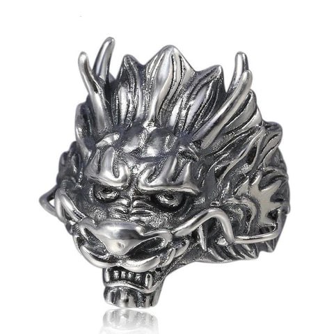"Bague Dragon<br> Chinois ""Argent"" - Dragon-chinois"