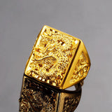 "Bague Dragon<br>  Celtique ""Or"" - Dragon-chinois"