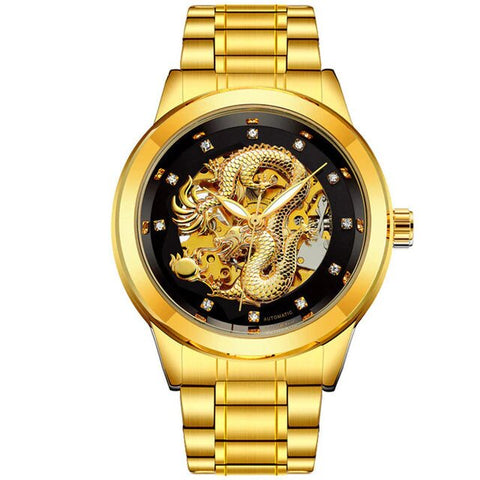 Montre dragon<br> Bracelet - Dragon-chinois