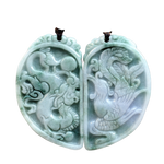 Collier Dragon<br> Jade Ancien - Dragon-chinois