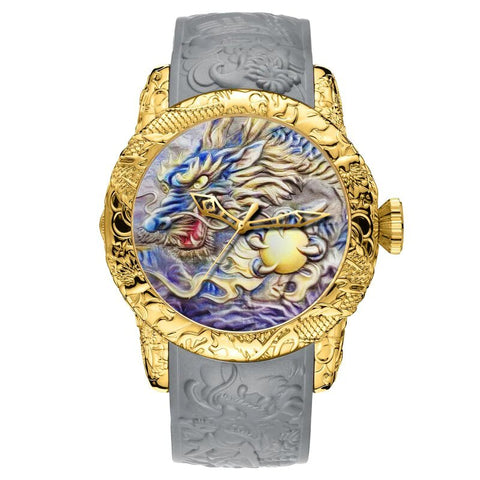 Montre dragon<br> Femme - Dragon-chinois