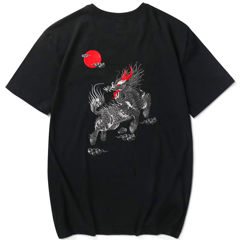 T-shirt Dragon<br> Roi Soleil - Dragon-chinois