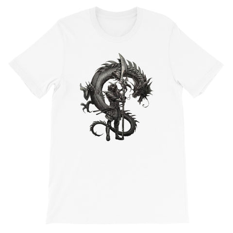 T shirt Dragon<br> Samurai Légendaire - Dragon-chinois
