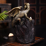 Porte encens dragon<br> Chinois - Dragon-chinois