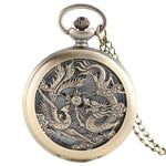 Montre Gousset<br> Homme - Dragon-chinois
