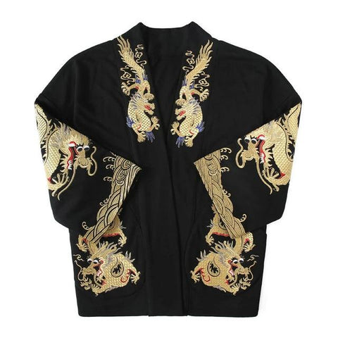 Kimono dragon<br> Traditionnel Japonais Homme - Dragon-chinois