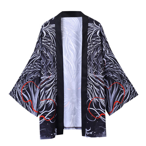 Kimono Dragon <br> Satiné - Dragon-chinois