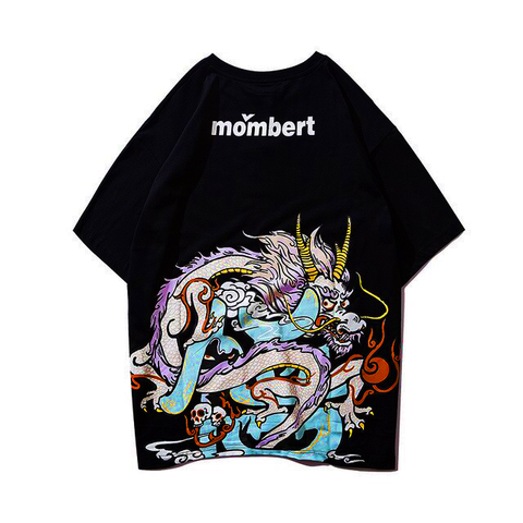 T-shirt Dragon<br> Streetwear Femme - Dragon-chinois