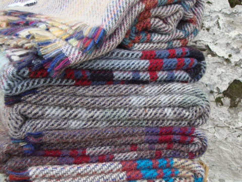 All Wool Picnic Blankets