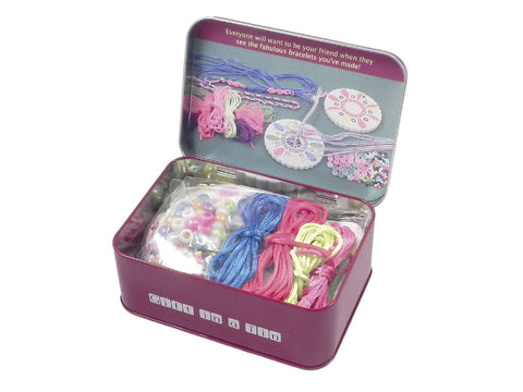 Friendship Bracelet Tin