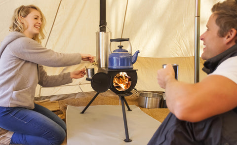 Frontier Stove | Portable Log Burning Stove