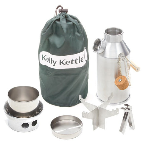 Kelly Kettle | Aluminium Trekker Kettle Full Kit
