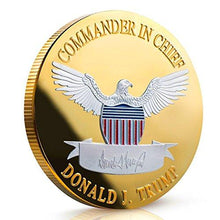 Load image into Gallery viewer, 2020 Donald Trump Keep America Great Coin - Two Tone Silver On Gold - Collector's Edition