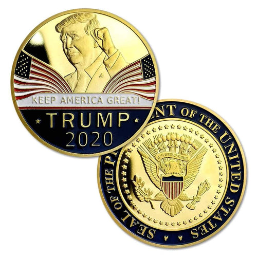 Donald Trump 2020 - Keep America Great - Commemorative Challenge Coin