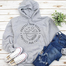 Load image into Gallery viewer, Protect Our Ocean Hoodie