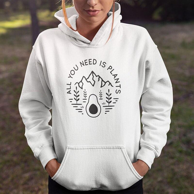 All You Need Is Plants Hoodie