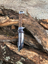 Load image into Gallery viewer, Professional Ranger knife - Original with serration and saw teeth