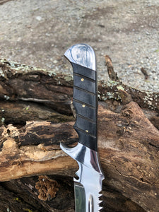 Professional Hunter Knife - Original with saw teeth