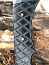 Load image into Gallery viewer, Professional Ranger knife #2 - Last prototype - Black Micarta