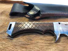 Load image into Gallery viewer, Professional Ranger knife #1 - Early prototype - Black Thorn Wood