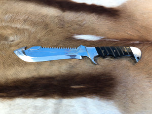 Wild Meester professional hunter #3 - Early prototype - Buffalo Horn - no sheath