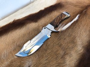 Professional Ranger knife #4 - Early prototype - Thorn Wood - no sheath