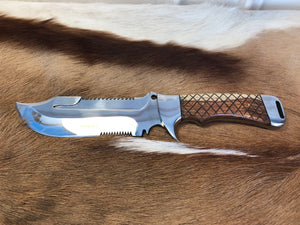 Professional Ranger knife #1 - Early prototype - Thorn Wood