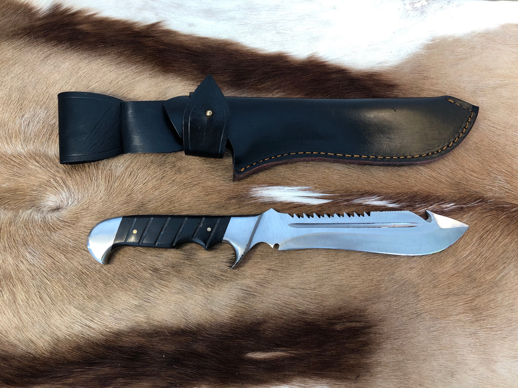 Wild Meester professional hunter #3 - Early prototype - Black Micarta