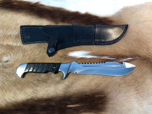 Wild Meester professional hunter #4 - Early prototype - Black Micarta