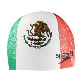 Get 2 Speedo World Tour Silicone Caps