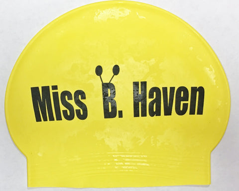 Miss B Haven Latex Swim Cap