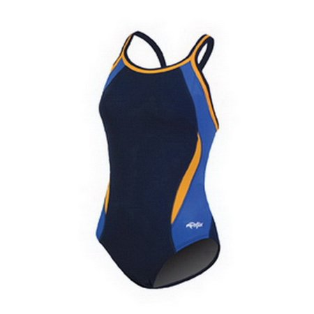 RELIANCE Navy/Blue/Gold Colorblock DBX Back