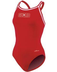 Womens RELIANCE Guard Red DBX Back