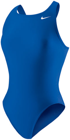 Nike Fast Back Female Solid Lycra Swim Suit