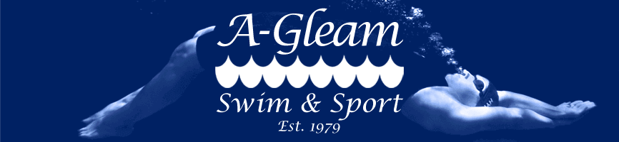 Image result for a-gleam swim and sport katy tx logo