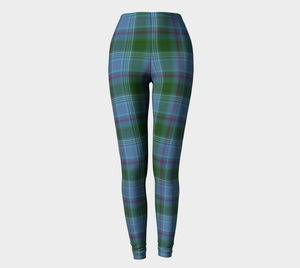 Earth Eyes Plaid - Ecopoly Canadian Made Leggings