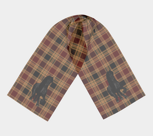 Elite Friesian Plaid - Canadian Made - Long Scarf