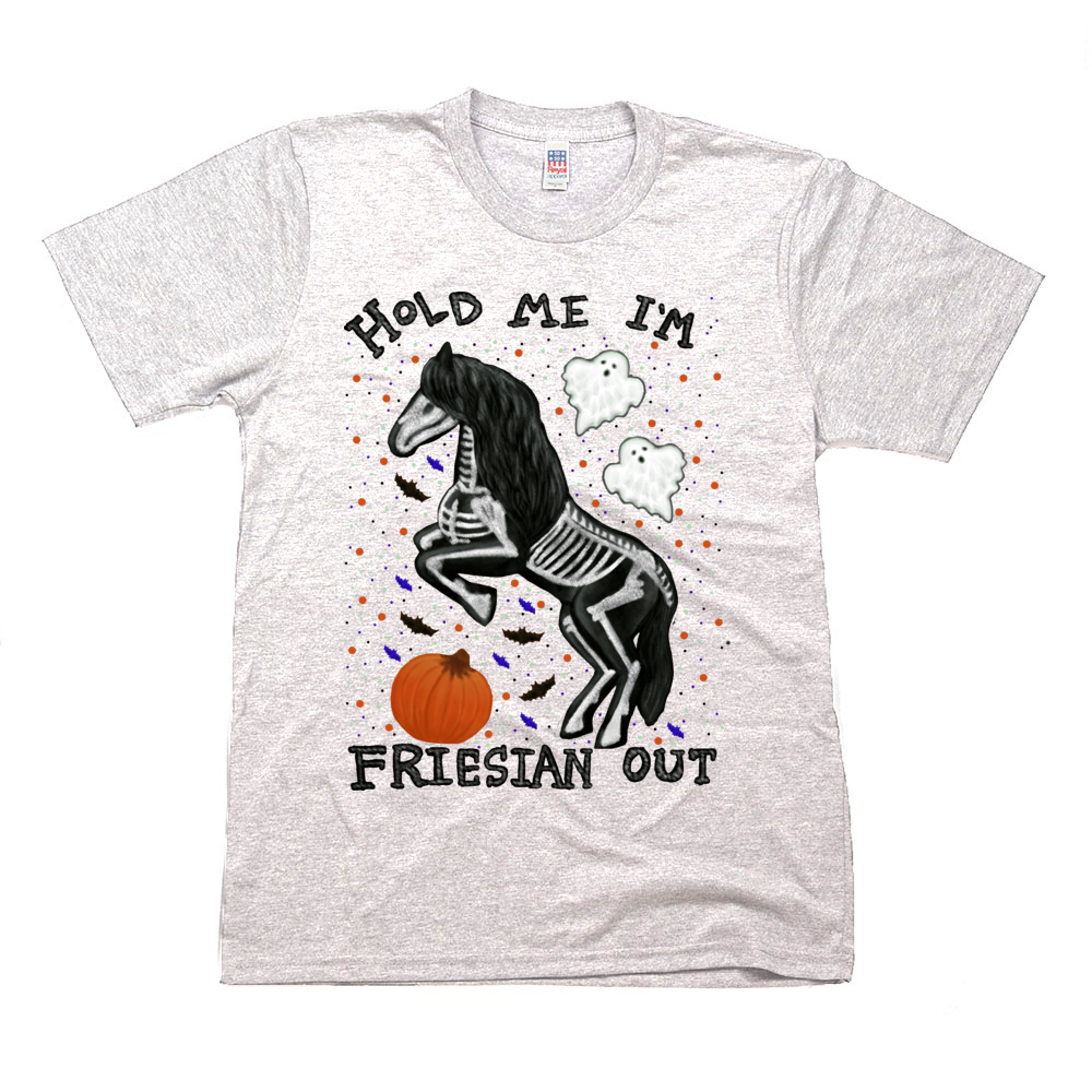 Hold Me I'm Friesian Out - Unisex - USA Made soft Jersey T-shirt