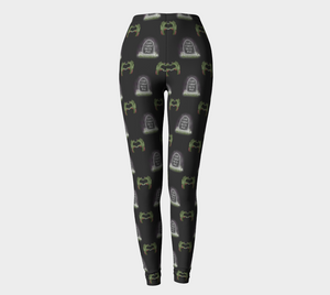 Until Undead Do Us Part - Women's - Comfy Canadian Made Ecopoly Leggings