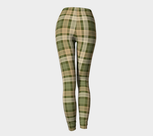 Wild Adventures Plaid - Women's - Canadian Made Leggings