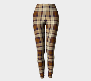 Autumn Dreams Plaid - Women's - Canadian Made Leggings