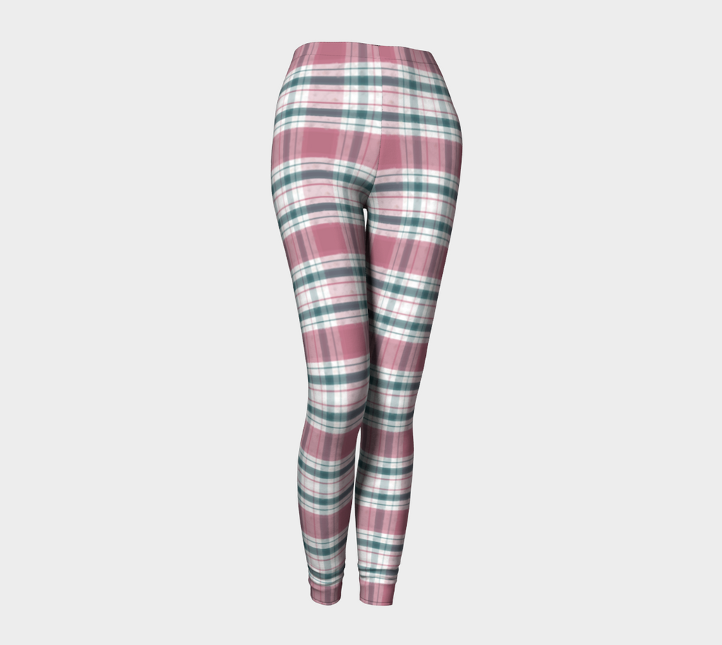 Snowday Plaid - Leggings