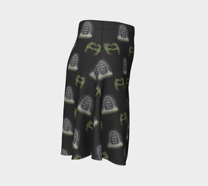Until Undead Do Us Part - Women's - Cozy Canadian Made Ecopoly Skirt