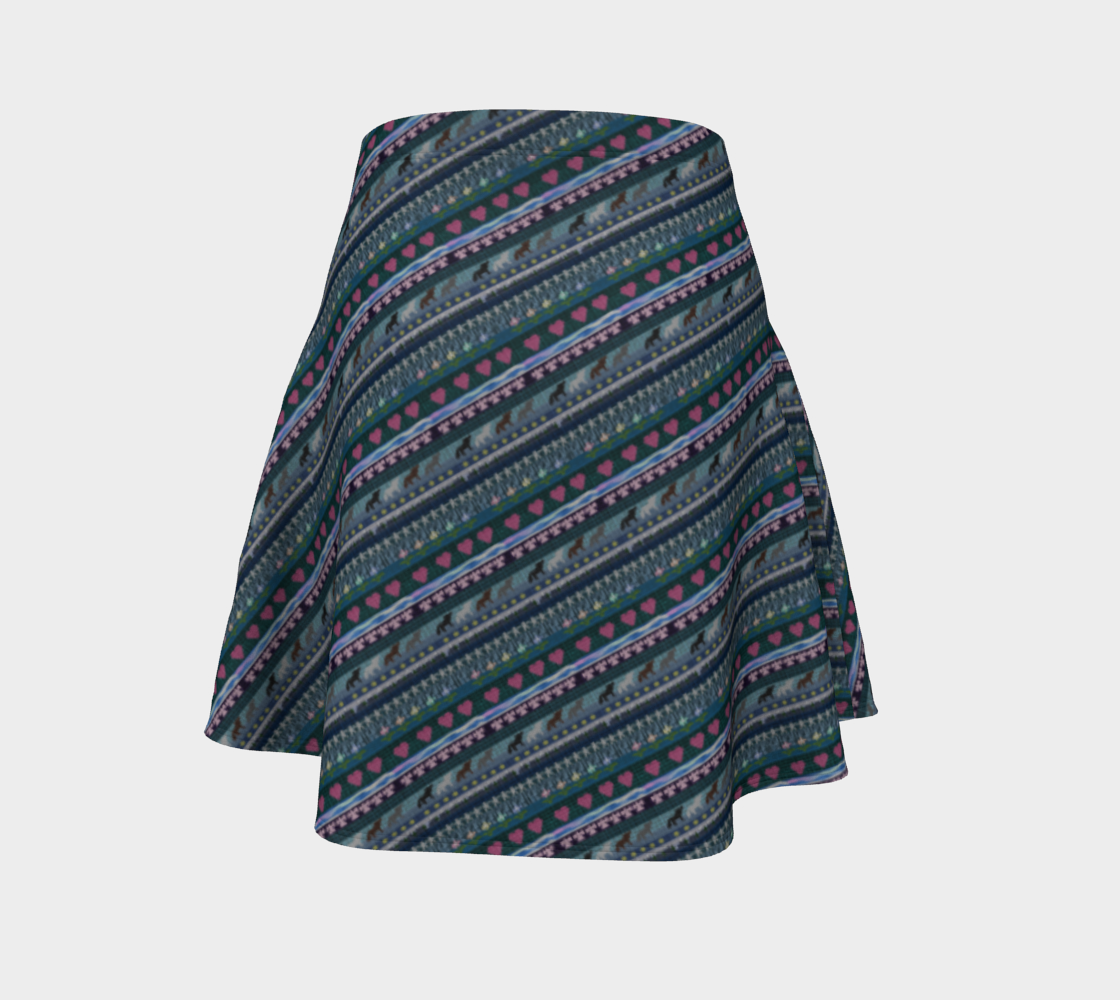 Native Print - Skirt