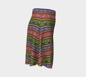Zombie Buddha - Women's - Cozy Canadian Made Ecopoly Skirt