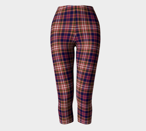 Equine Red Plaid - Women's - Canadian Made Ecopoly Capris