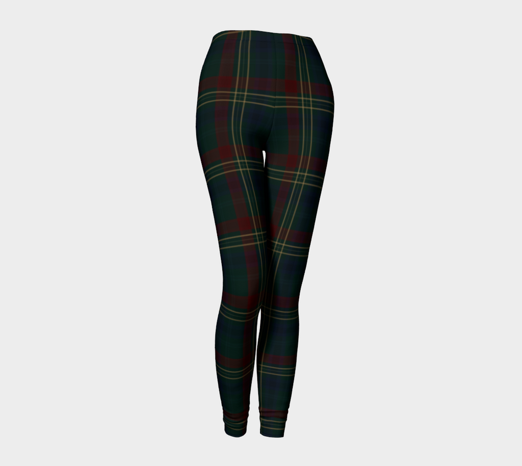 Classy Equine Plaid - Women's - Canadian Made Leggings